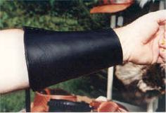 Archery-hand made leather arm guards, quivers, bowslings
