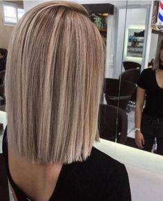 BLUNT BOB 2019 standard trend hairstyle long straight #blunt #Bob #Hairstyle #Long #standard #Straight #Trend #longbobhaircut