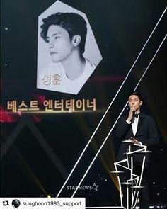 17 個讚,1 則留言 - Instagram 上的 Debbie Moh(@debbie_moh):「 #Repost @sunghoon1983_support ・・・ [ SUCCESS ] 🎉🎉#SungHoon won '#AAA Best Entertainer Award'✌✌👏👏… 」