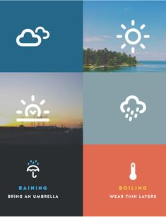This iconset is an extension of the original dripicons set with a collection of icons focused solely on weather and climatology. It is free for Personal or Commercial projects. Ui Ux Design, Flat Design, Weather Icons, Less Is More, Pictogram, Icon Set, Creative, Illustration, Free