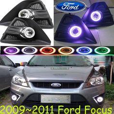 Car-styling,CAR fog lamp,2009~2011,chrome,Free ship!2pcs,FOCU head light,car-covers,Halogen/HID+Ballast;FOCU