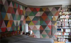 la aplicación inteligente del color hace que un espacio aguante algo saturado pero agradable
