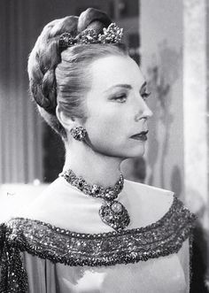 """Agnes Moorehead in """"Her Highness and the Bellboy"""",  (1945)"""
