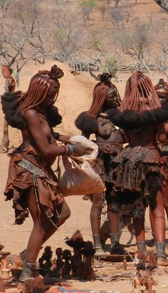 mujeres Himba. Namibia
