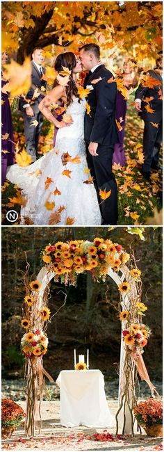 30+ Great Fall Wedding Ideas for Your Big Day | Decoration, Weddings ...