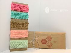 www.stampenvy.ca Ruffled Ribbon Share