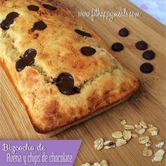 Fit Happy Meals: Bizcocho de avena y chips de chocolate