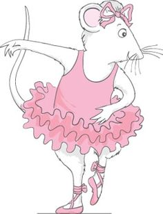 Coloring pages Angelina Ballerina