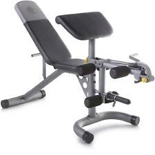 Home Fitness Exercise Gym Equipment Machine Total Body Adjustable Workout Bench