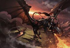 ~ ♥ #dragons #fantasy #art