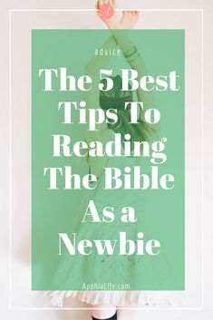 Reading the bible can be really hard, especially when you're a new Christian. Here are some helpful tips to make it easier.