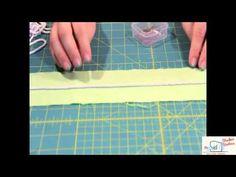 Pied passepoil 5mm, pose perles et paillettes, lainage 1 rainure 2 www.stecker.be F028N - YouTube