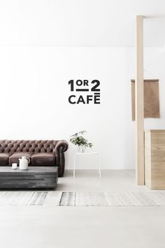 Pulling inspiration from Menu products the team of Norm Architects and April and May interior designers produced this gorgeous cafe. Modern Interior Design, Interior Architecture, Interior And Exterior, Buy Sofa, Sofa Couch, Chesterfield Bank, Decoration Photo, Coffee Room, Cafe Design