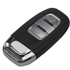 3 Button Smart Remote Car Key Shell Cover Case For Audi A4L A6L Q5 A5 Smart Key Shell Remote Control Key Case 754C / 754G #Affiliate