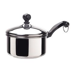 Farberware Classic Series Stainless Steel 1Quart Covered Saucepan * More info could be found at the image url.-It is an affiliate link to Amazon.