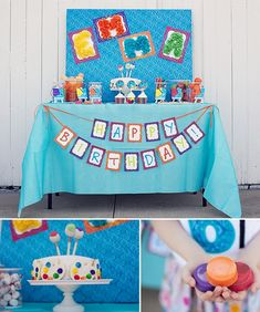 Art Party Dessert Table! | Easy DIY and lots of pics with Kim Byers