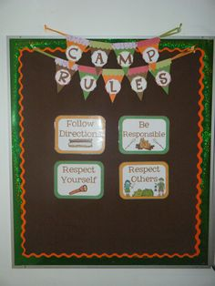 camp classroom decorations - Google Search