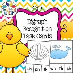 This activity contains 7 different images for each digraph. The digraphs included are; ch, th, sh, wh, ph. I highly recommend cutting out each task card individually and laminating them so they will be stronger and longer lasting. Then use dry wipe pens or pegs for students to choose their answer for each question - what digraph for the image.