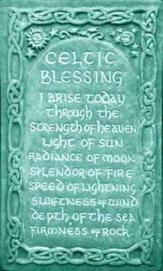 Celtic blessing...