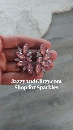 Statement Earrings, Stud Earrings, Bridal Earrings, Bridal Style, Wedding Jewelry, Sparkle, Nails, Beauty, Shopping