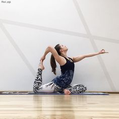 RU ниже!!! LV zemāk!!! Welcome to day 4 of #MayYourHipsOpen  Today's pose is Eka Pada Kapotasana or Pigeon Pose as presented by lovely @vijashaa This pose is perfect for tight hips because it stretches the hip rotators (the buttocks area) and the hip flex