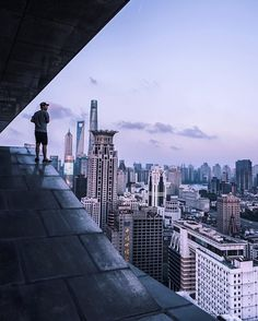 Terrifying Rooftop Photography From The Futurescapes of Shanghai by Jennifer Bin #inspiration #photography ✈✈✈ Here is your chance to win a Free International Roundtrip Ticket to anywhere in the world **GIVEAWAY** ✈✈✈ https://thedecisionmoment.com/free-roundtrip-tickets-giveaway/