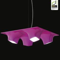 Light + Building 2012 Frankfurt – Squeeze suspended lamp by Karim Rashid for Nimbus lighting exhibit design