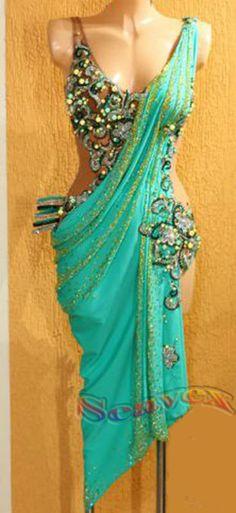 Nice design Latin dress