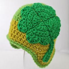 Free Crochet Pattern: Shamrock Hat