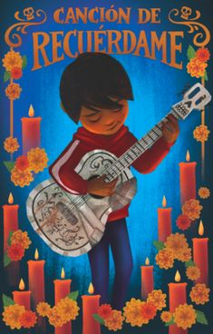 Can We Talk About How Adorable These Disney 'Coco' Lotería Cards Are? Arte Disney, Disney S, Disney Love, Coco Disney, Disney Frozen, Disney Pixar Movies, Disney And Dreamworks, Disney Animation, Animation Film