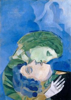 Kép: Marc Chaggal The Lovers 1916