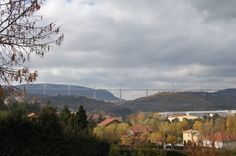 Millau Viaduct on the main A75 peage heading for Montpellier...
