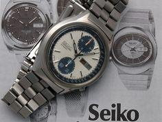 """Seiko """"Panda"""" 6138-8020"""