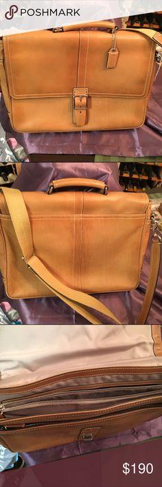Coach briefcase Coach briefcase Coach Accessories Laptop Cases