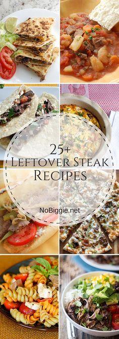 25+ Leftover Steak Recipes | NoBiggie.net
