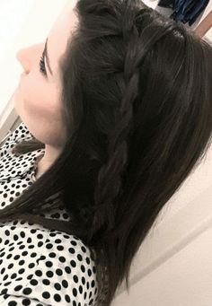Braid hair summer hairstyle