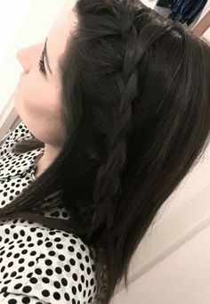 Braid hair summer hairstyle