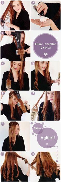 1000 images about cabello peinados on pinterest pelo - Como realizar peinados ...