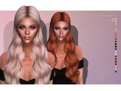 Sims 4 Game Mods, Sims Games, Sims Mods, Sims 4 Teen, My Sims, Sims Cc, Eva Hair, Pelo Sims, The Sims 4 Cabelos