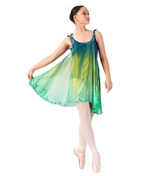 124ab5e8b865 Shoulder Tie Tunic Dress - Style Number: WCDTS $45.50 #discountdance # watercolour Tie Dress