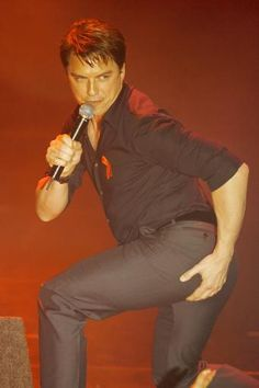 John Barrowman I don't know how or why but I love it