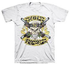 Guns N Roses Shotgun Skull Appetite T-Shirt (Medium) ill Rock Merch http://www.amazon.com/dp/B00RU641IY/ref=cm_sw_r_pi_dp_1Hz8ub0Q08KQQ