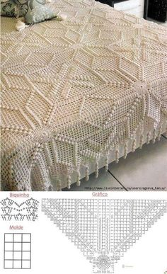 Best 12 How to crochet a solid granny square – SkillOfKing. Crochet Bedspread Pattern, Crochet Pillow, Crochet Motif, Crochet Doilies, Crochet Stitches, Vintage Crochet Patterns, Crochet Square Patterns, Doily Patterns, Crochet For Kids
