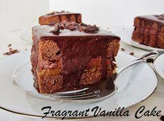 Fragrant Vanilla Cake: Raw Spicy Cacao Maca Love Cakes