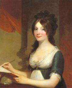 centuriespast:    Portrait of a Young Woman Gilbert Stuart circa 1803  Indianapolis Museum of Art
