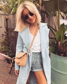 "7,400 Likes, 46 Comments - Laura Jade Stone (@laurajadestone) on Instagram: ""Feeling blue  @sundaysthelabel"""