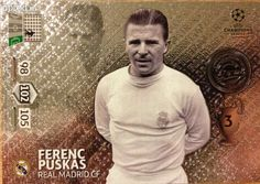 Puskás Ferenc Legend Panini