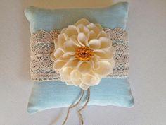 Fabric & Sewing Handicraft: DIY Ring Pillow