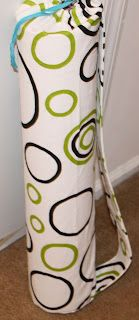 DIY Yoga Mat Bag>>> will have to try