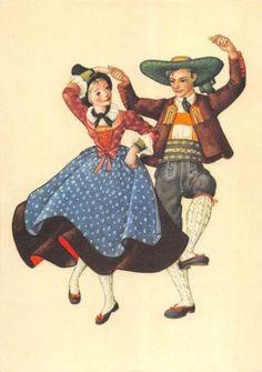 B99205-tyrol-otztal-music-dance-austria-types-ethnics-folklore